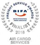 BIFA Air Cargo Services Finalist 2018